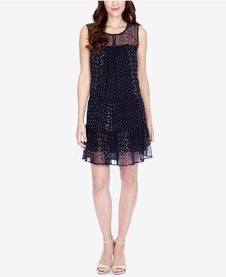 Lucky Brand Printed Illusion Dress $129 thestylecure.com