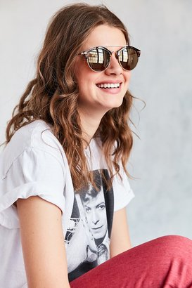 Urban Outfitters Adventure Round Half-Frame Sunglasses $16 thestylecure.com