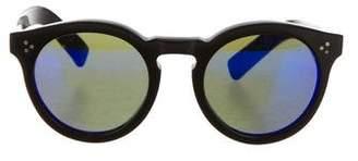 Illesteva Mirrored Leonard 2 Sunglasses $180 thestylecure.com