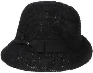 Collection XIIX Ltd. Women's Color Expansion Cloche Hat