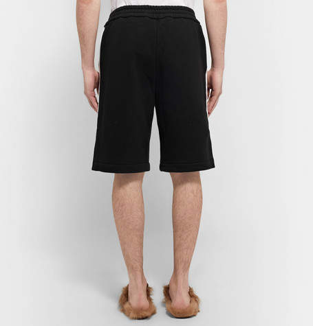 Gucci Embroidered Loopback Cotton-Jersey Shorts