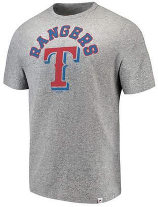 Majestic Men's Texas Rangers Twisted Stripe T-Shirt