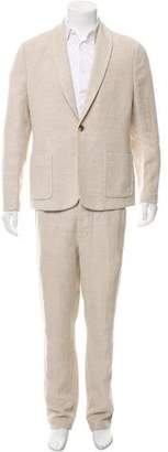 James Perse Woven Two-Piece Suit