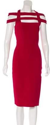 Cushnie et Ochs Stretch Knee-Length Dress