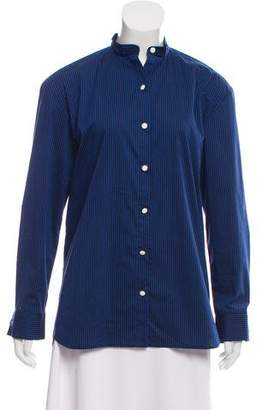ATEA OCEANIE Pinstripe Button-Down