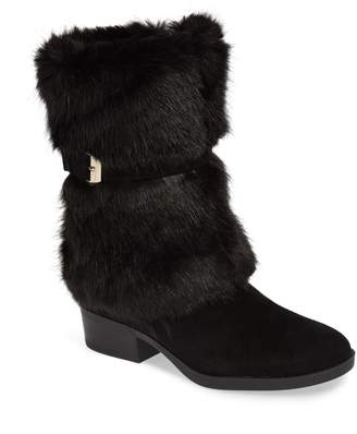 Taryn Rose Giselle Weatherproof Faux Fur Boot