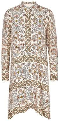 Tory Burch Celeste Printed Silk Dress