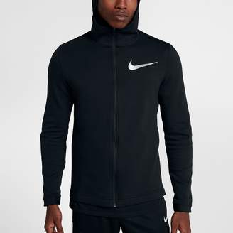 Nike Dry Hyper Elite Showtime Men's Full Zip Basketball Hoodie