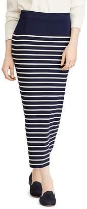 Lauren Ralph Lauren Sweater-Knit Midi Skirt