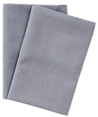 UGG 300 Thread Count Chambray Melange Standard Pillowcase - Set of 2