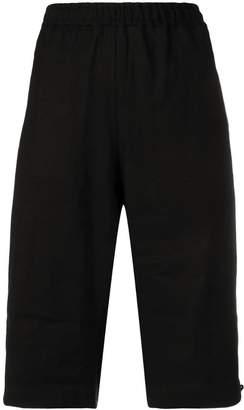 Y-3 paper cotton shorts