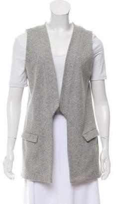 Waverly Grey Wool-Blend Vest