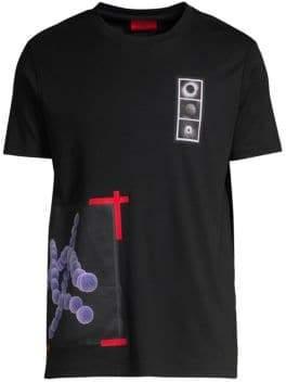 HUGO Dolecular Science Graphic T-shirt
