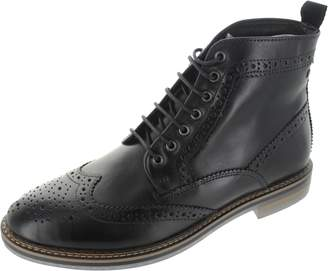 Base London Mens Hurst Leather Boots 42 EU