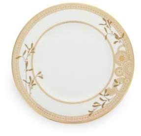 Gourmet Dining Prouna Golden Leaves Dinner Plate
