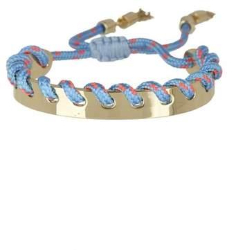 Rebecca Minkoff Climbing Rope Whipstitch Cuff Bracelet