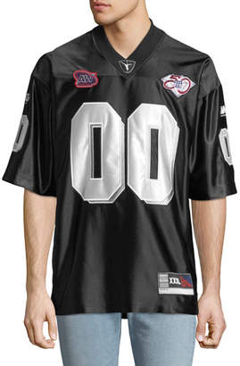 Alexander Wang Men's Football Jersey With Player ID Patch