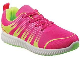 Josmo Fuchsia Lime Casual Trendy Toddler Girls' Sneakers