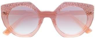 Diesel oversized sunglasses