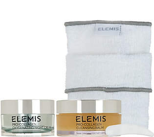 Elemis Pro-Collagen Oxygenating Night Cream &Cleansing Balm