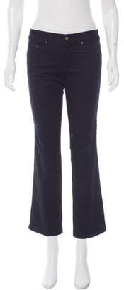 Alexander McQueen Mid-Rise Straight-Leg Jeans