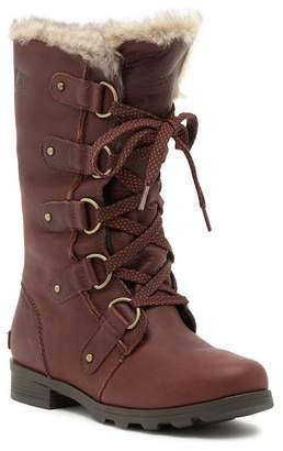 Sorel Emelie Lace Premium Faux Fur Collar Boot