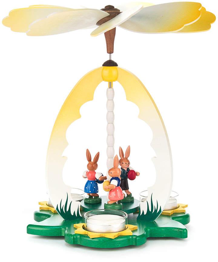 Bunny & Flower Pyramid Tealight Holder