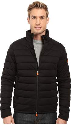 Save the Duck Solid Stretch Puffer Jacket Men's Coat