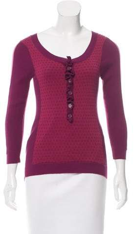 Marc by Marc Jacobs Long Sleeve Knit Top