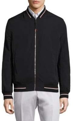 Strellson Contrast Stripe Bomber Jacket