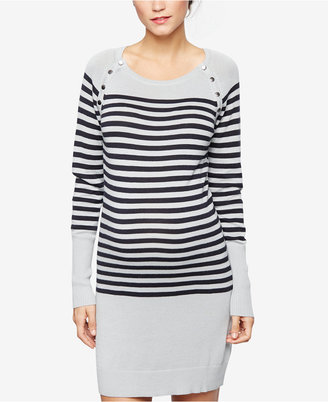 Seraphine Nursing Sweater Dress $89 thestylecure.com