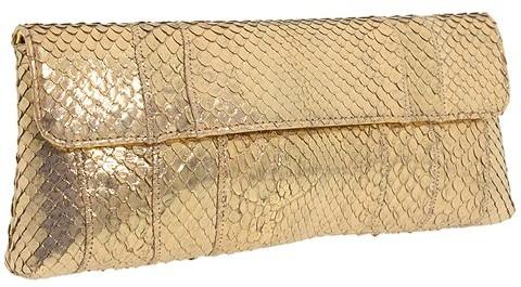 Carlos Falchi Handbags Trapezoid Clutch
