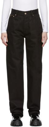 Eytys Black Benz Raw Jeans