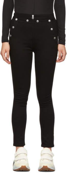 Black Penton Jeans