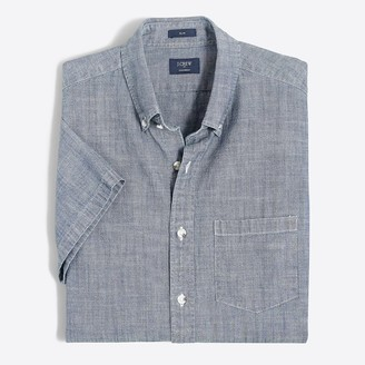 J.Crew Slim short-sleeve chambray shirt