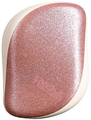 Tangle Teezer Rose Gold Glitter Compact Styler Hairbrush