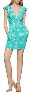 BCBGeneration Leafy Bloom Sheath Dress
