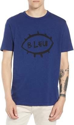 French Connection Bleu Slubbed T-Shirt