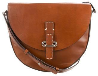 MICHAEL Michael KorsMichael Kors Leather Saddle Bag