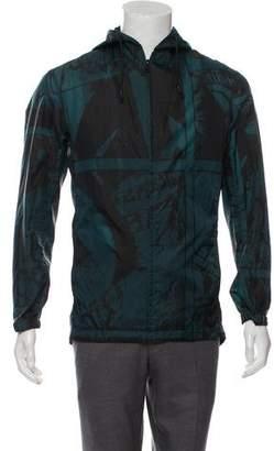 Y-3 Printed Hooded Jacket