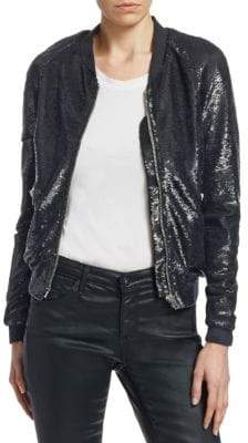 IRO Barbara Sequin Bomber