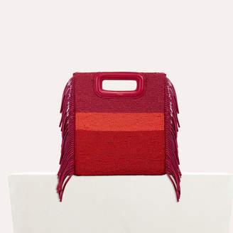 Maje Sheepskin M bag with beads