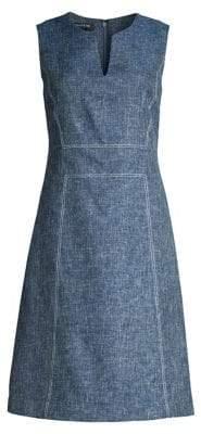 Lafayette 148 New York Brett Sleeveless A-Line Dress