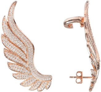 Rosegold Latelita Gabriel Angel Wing Ear Climber