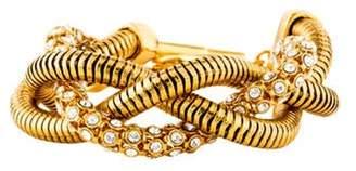 Diane von Furstenberg Gemma Braided Link Bracelet Gold Gemma Braided Link Bracelet