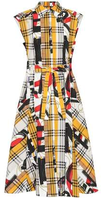 Burberry Archive Scarf print cotton dress
