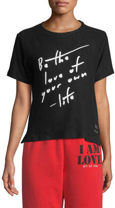 Peace Love World Taylor Love Comfy Slogan Tee
