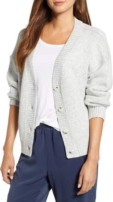 Lou & Grey Abbreviated Boyfriend Cardigan