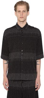 Damir Doma Sol 3d Printed Cotton Shirt