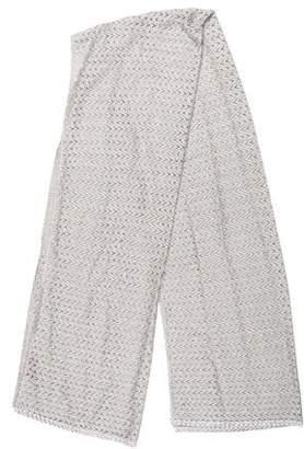 Missoni Metallic Open Knit Shawl